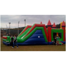 inflatable combo unit, party rentals