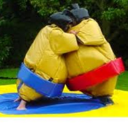 sumo wrestling party rental