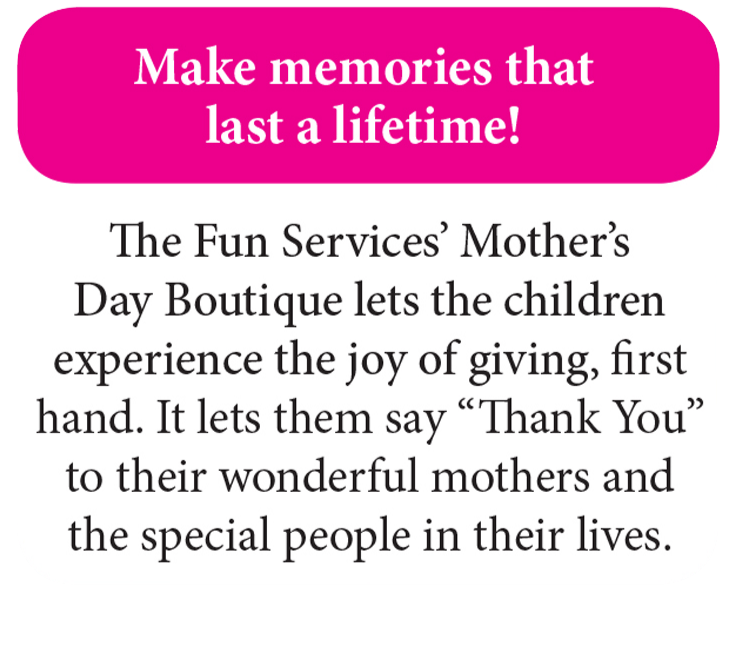 Fundraising, Mother's Day