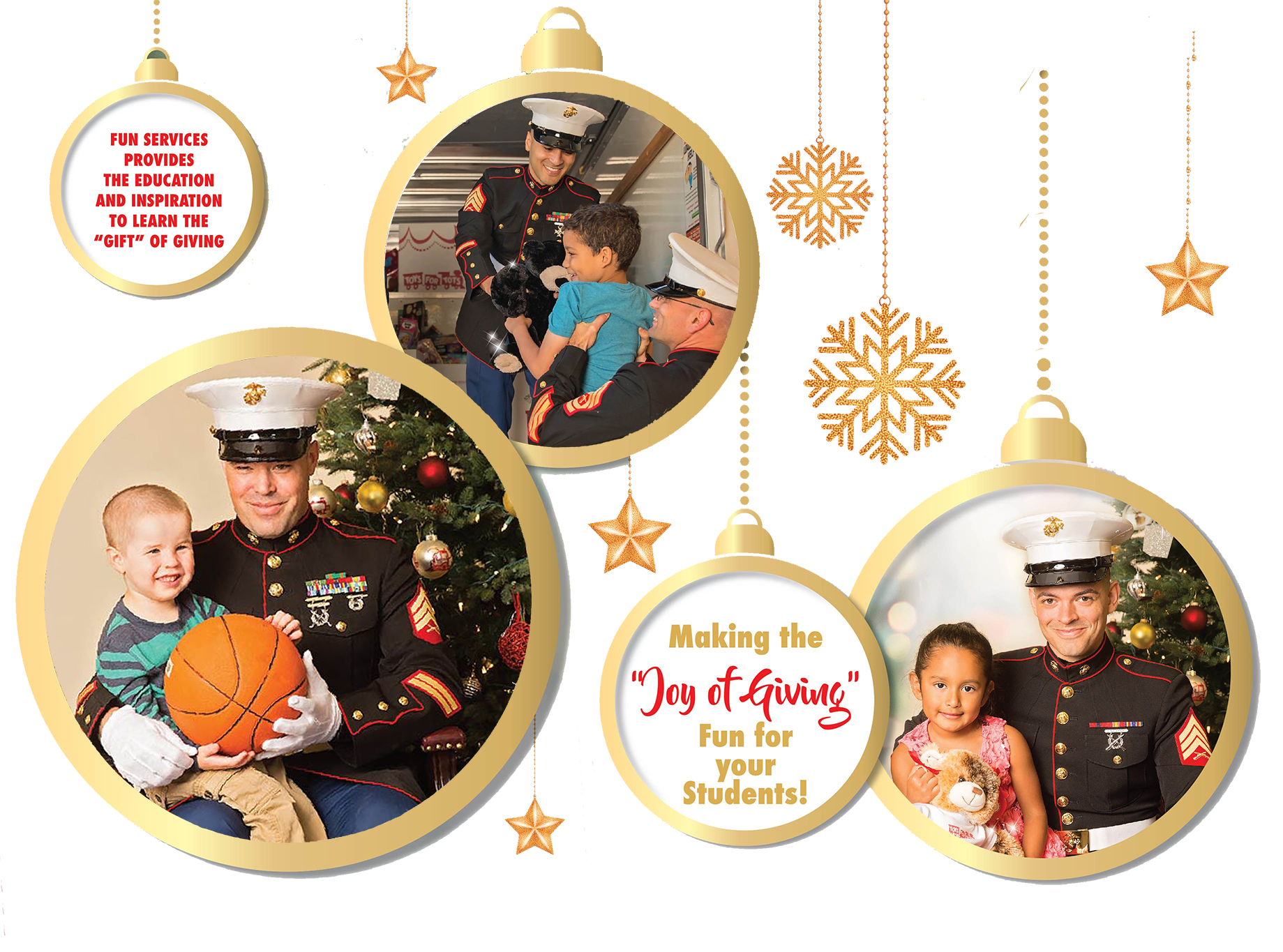 Fun Services now partnering with Toys for Tots