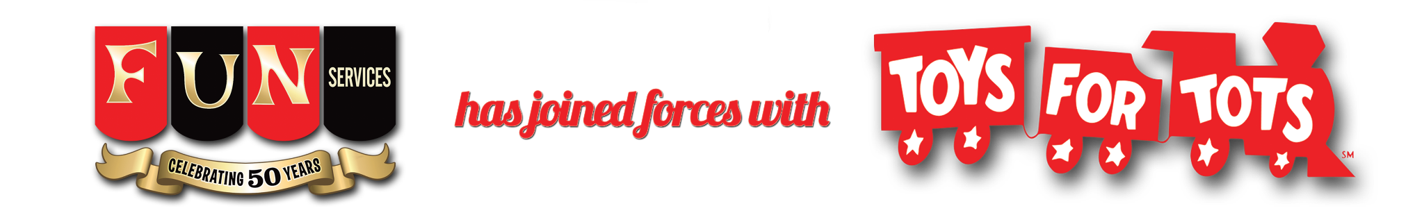 Fun Services joins forces with Toys for Tots