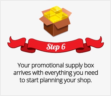 Step 6, promotional supply box