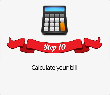 Step 10, Calculate your Holiday Gift Shop Bill