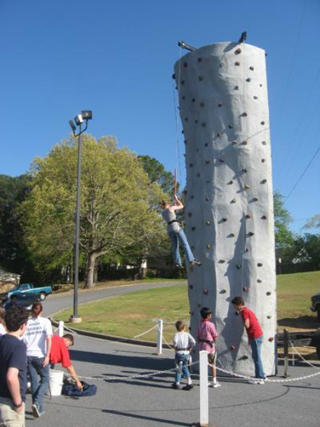 rock wall, rockwall, portable rental