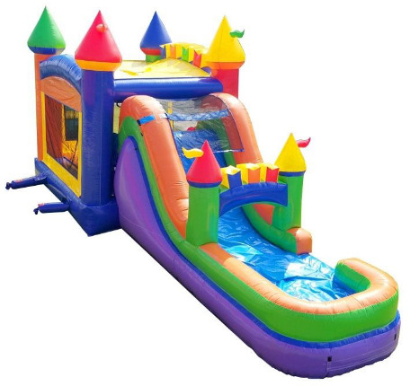 INFLATABLE BOUNCE COMBO UNIT WATERSLIDE