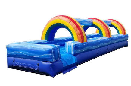 30' INFLATABLE SLIP AND SLIDE