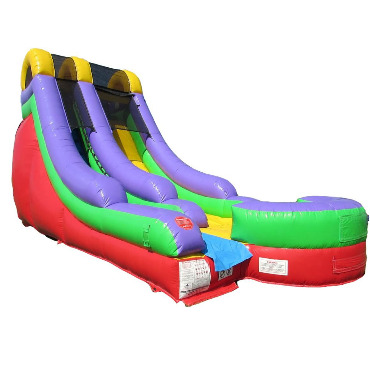 18' INFLATABLE WET DRY WATER SLIDE