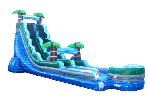 22' TROPICAL WATER SLIDE