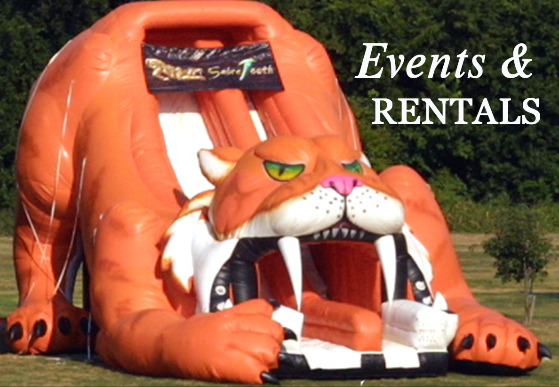 Inflatable party rentals, corporate picnics, events, water slides